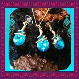 Pendant & Earrings